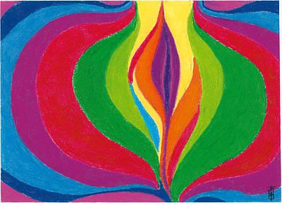 Core Art Print by Helen Savin Thornhill