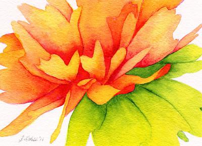 Coreopsis Art Print by Sue Lohse