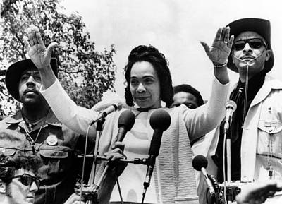 Anti-war Photograph - Coretta Scott King At Anti Vietnam War by Everett