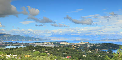 Photograph - Corfu Panorama by Paul Cowan