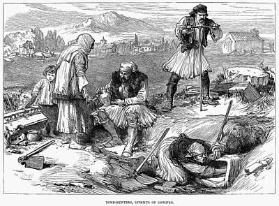 Corinth: Grave Robbers Art Print