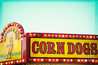 Corn Dogs Art Print by Kim Fearheiley