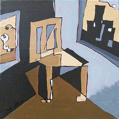 Painting - Cornered by John Gibbs