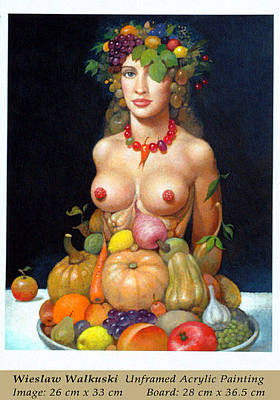 Painting - Cornucopia by Wieslaw Walkuski