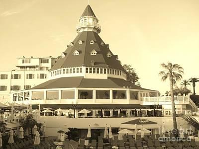 Art Print featuring the photograph Coronado Hotel by Jasna Gopic