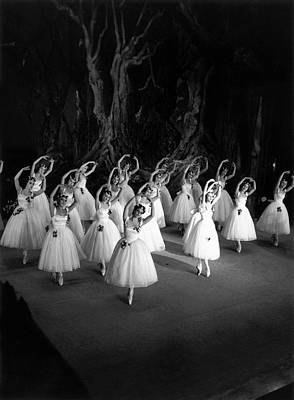 Corps De Ballet Art Print