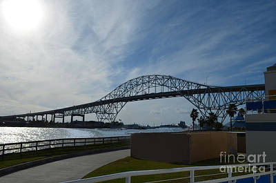 Photograph - Corpus Christi Bridge by Donna Brown