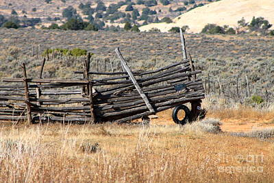Photograph - Corral by Pamela Walrath