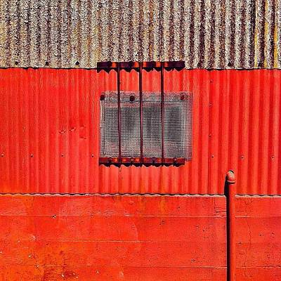Colorful Photograph - Corrugated by Julie Gebhardt