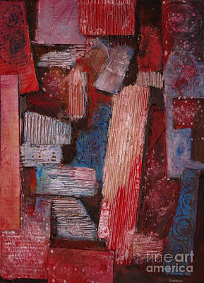 Red Roof Mixed Media - Corrugated by Stephen Roberson