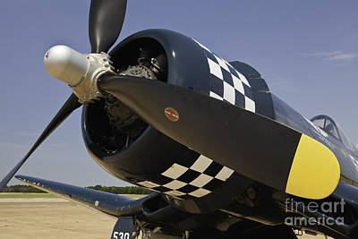 Photograph - Corsair Up Close Wwii by M K Miller