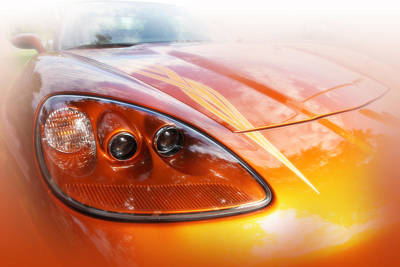 Photograph - Corvette 1 by Anthony Rego
