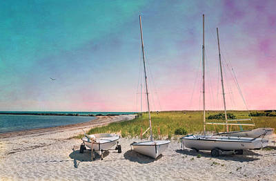 Photograph - Cosmic Cape Cod by Robin-Lee Vieira