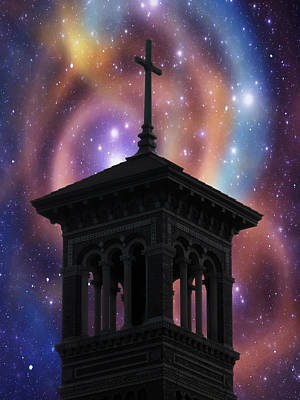 Photograph - Cosmic Cross by Mark J Seefeldt