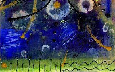 Divine Wisdom Painting - Cosmic Dreams by Angela L Walker