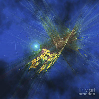 Digital Art - Cosmic Image Of Our Vast Universe by Corey Ford