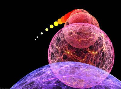 Big Bang Painting - Cosmic Inflation by Don Dixon