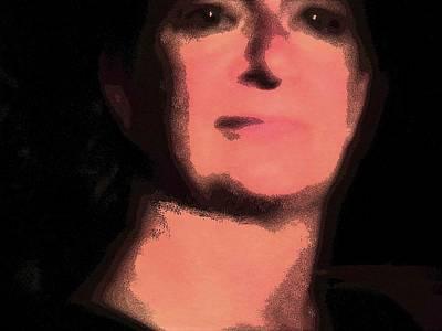 Cosmic Old Master Self Portrait 2 Art Print by Carolina Liechtenstein