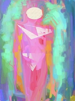 Cosmic Venus Art Print