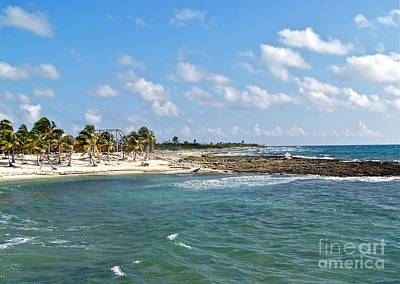 Photograph - Costa Maya Beach by Carol  Bradley