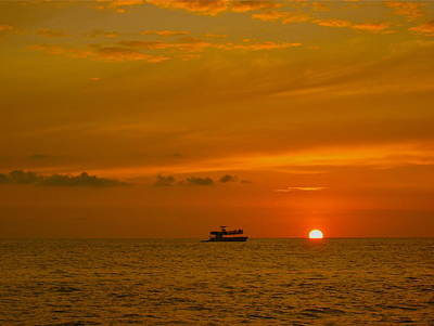 Photograph - Costa Rica Sunset by Eric Tressler