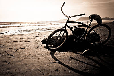 Costa Rican Beach Cruiser Art Print by Anthony Doudt