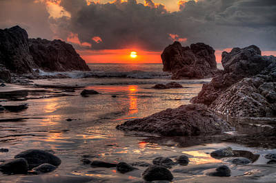 Photograph - Costa Rican Sunset by Anthony Doudt