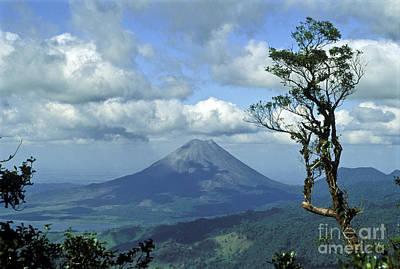 Photograph - Costa Ricas Arenal Volcano by Greg Dimijian