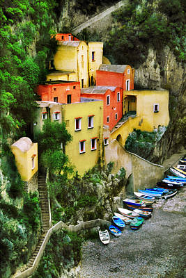 Photograph - Costeria Amalfitano by John Galbo