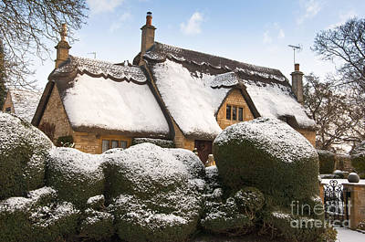 Landscape Photograph - Cotswolds Cottage by Andrew  Michael