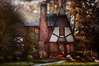 Photograph - Cottage - Westfield Nj - A Place To Retire by Mike Savad