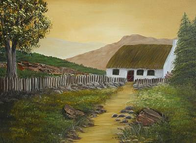 Painting - Cottage  by Kathy Sheeran