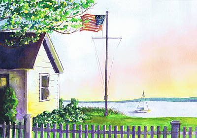 Cottage Orient Ny Art Print