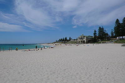Cottesloe Beach Perth Art Print by Gregory Smith