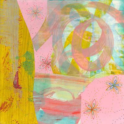 Cotton Candy Art Print by Alexandra Sheldon
