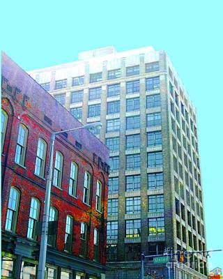 Digital Art - Cotton Exchange Memphis by Lizi Beard-Ward