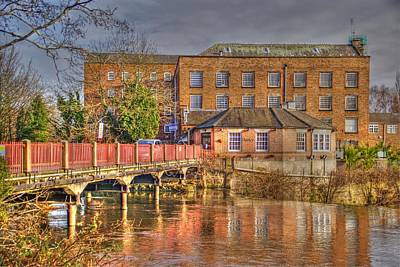 Photograph - Cotton Mill Near Derby by Rod Jones