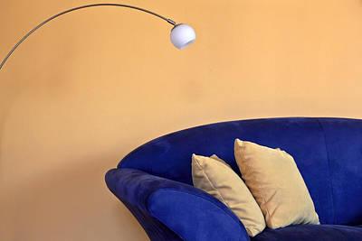 Couch Art Print by Joana Kruse
