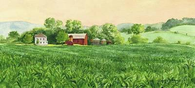 Painting - Coulee Farm by Phyllis Martino
