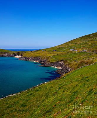 Coumeenole Beach And Coast Of Dingle Peninsula Art Print