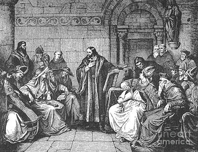 Council Of Constance, 1414 Art Print by Granger