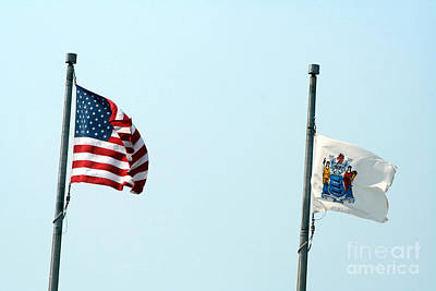Photograph - Country And State Flag by Susan Stevenson