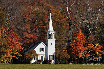Photograph - Country Church - D001218 by Daniel Dempster