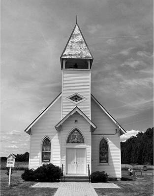 Country Church Art Print by Steven Ainsworth