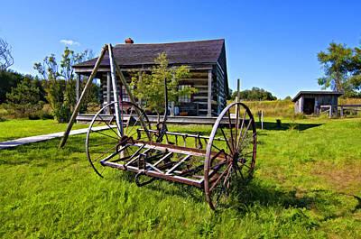 Country Classic Paint Filter Art Print by Steve Harrington
