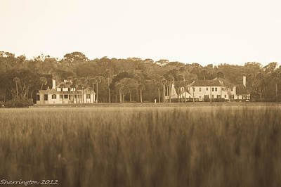 Photograph - Country Estate by Shannon Harrington