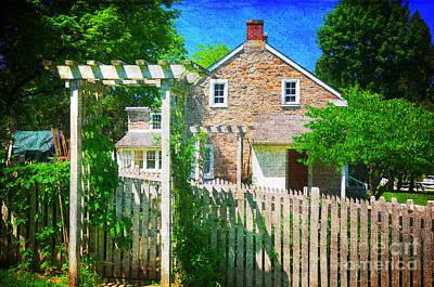 Country Garden Art Print by Paul Ward