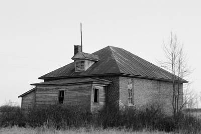 Photograph - Country House In Decay by Mark J Seefeldt