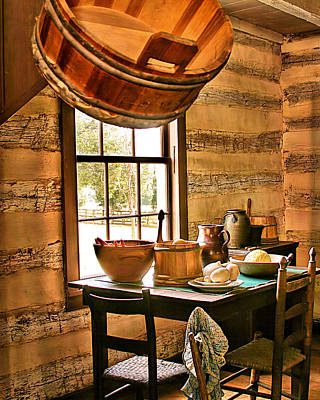 Digital Art - Country Kitchen by Mary Almond
