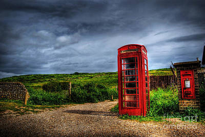 Photograph - Country Phone Box by Yhun Suarez